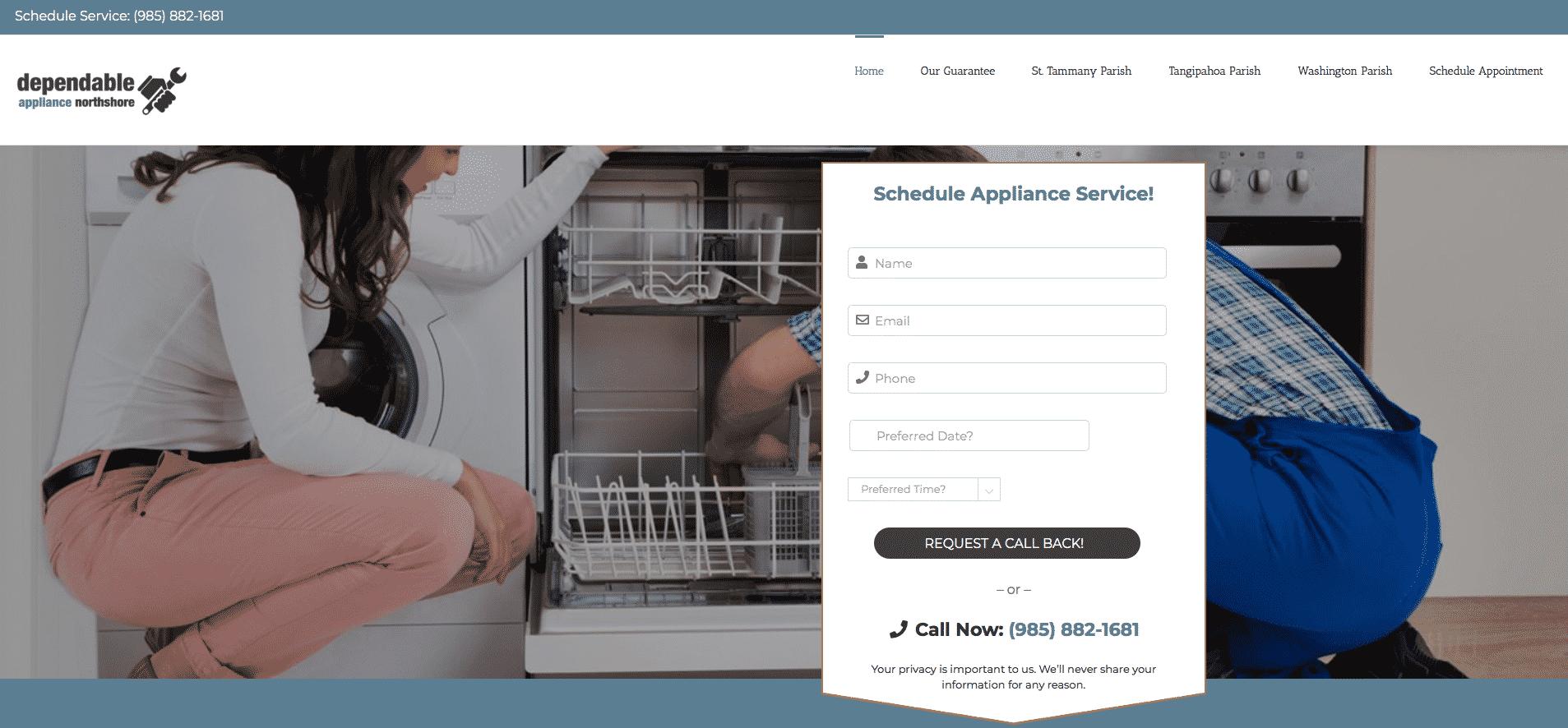 Dependable Appliance Northshore