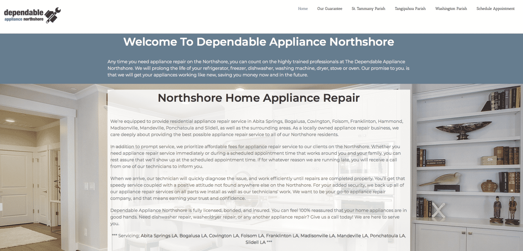 Dependable Appliance Northshore